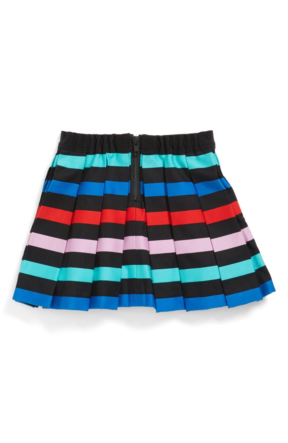 Alternate Image 2  - Milly Minis Pleated Skirt (Toddler Girls, Little Girls & Big Girls)