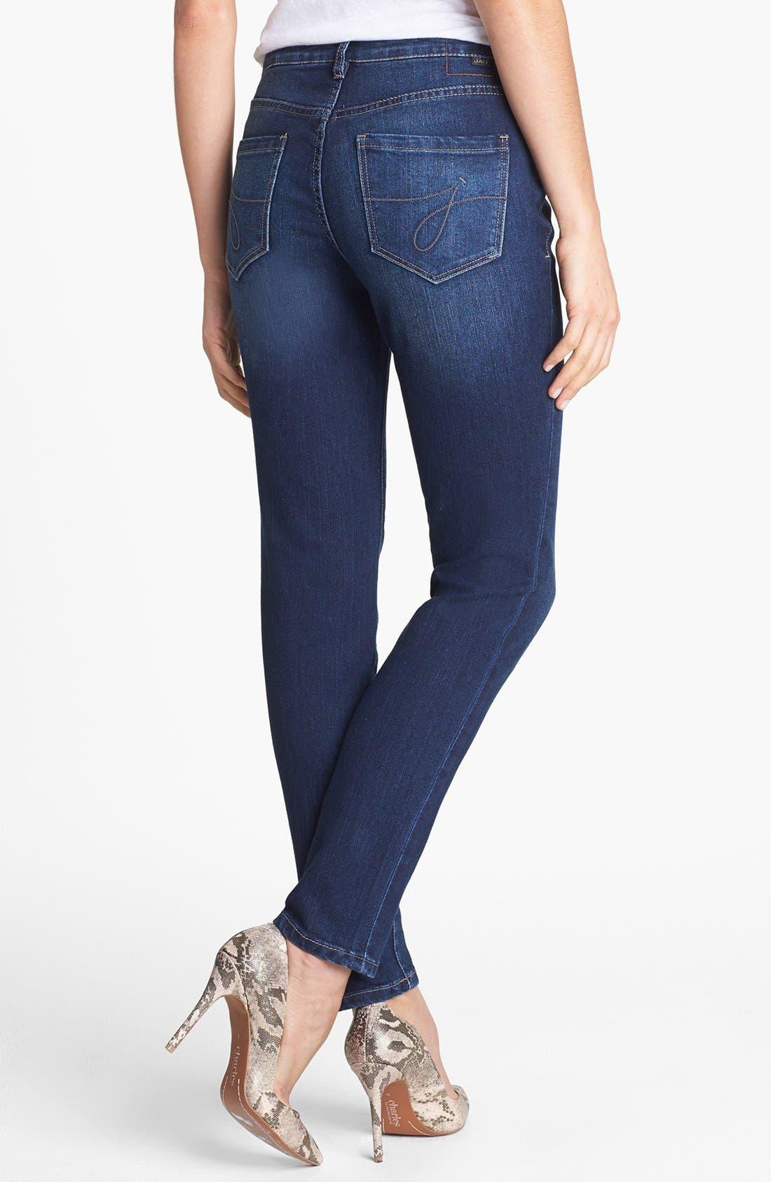 Alternate Image 2  - Jag Jeans 'Miranda' Skinny Jeans (Dark Rainwash)