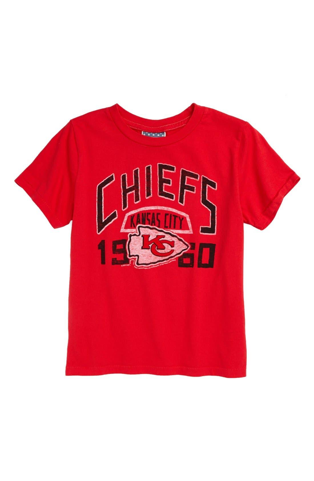 Alternate Image 1 Selected - Junk Food 'Kansas City Chiefs' T-Shirt (Toddler Boys)
