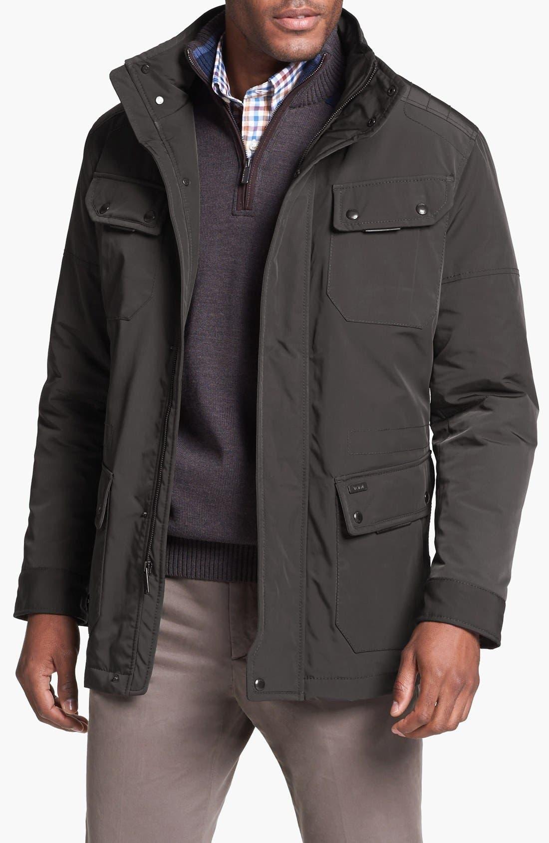 Main Image - Tumi Micro Ballistic Hooded Insulated Jacket