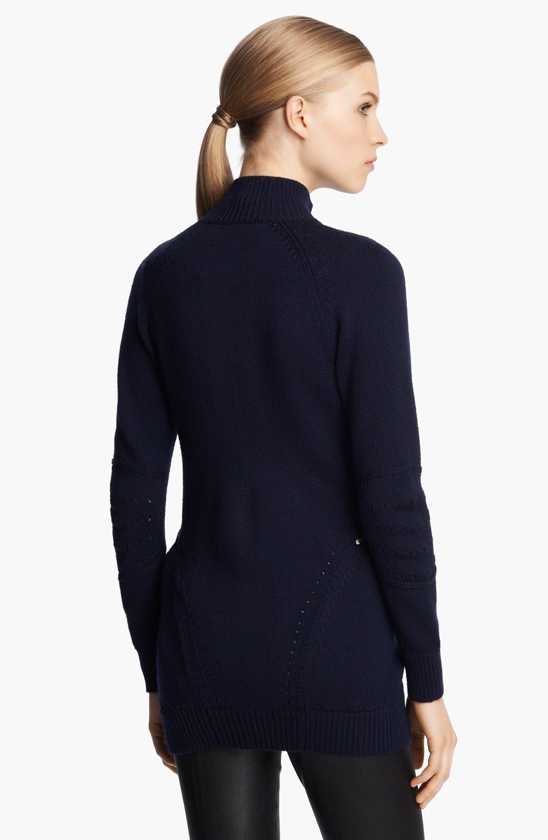 Alternate Image 2  - Junya Watanabe Mock Neck Wool Jersey Sweater