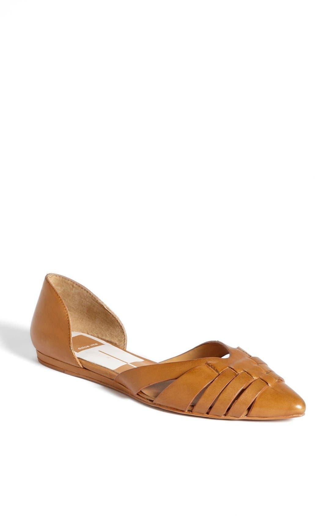 Main Image - Dolce Vita 'Alpha' Leather Flat Sandal
