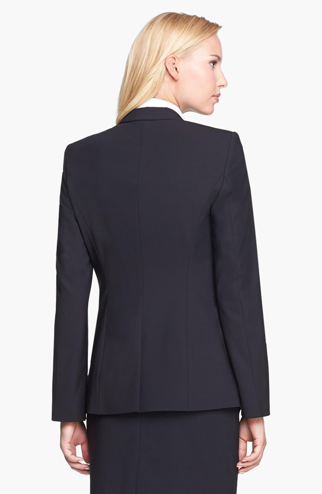 Alternate Image 2  - BOSS 'Juicyra' Tropical Wool Jacket