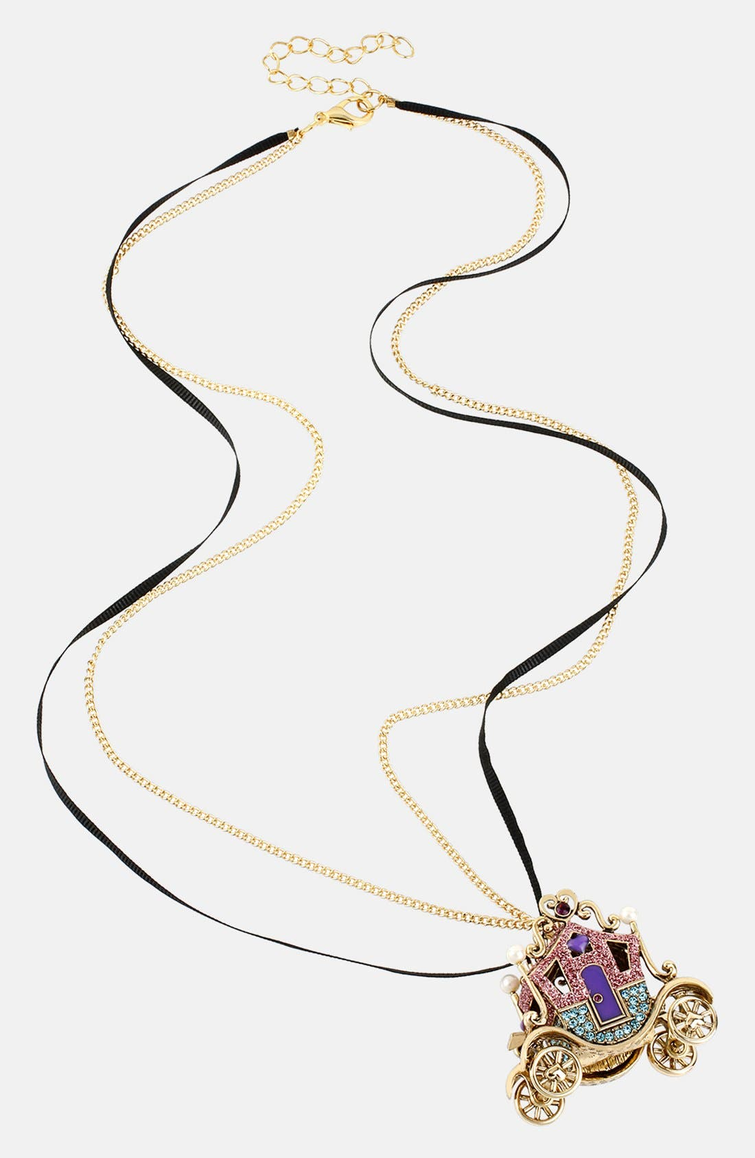 Alternate Image 2  - Betsey Johnson 'Imperial' Long Pendant Necklace
