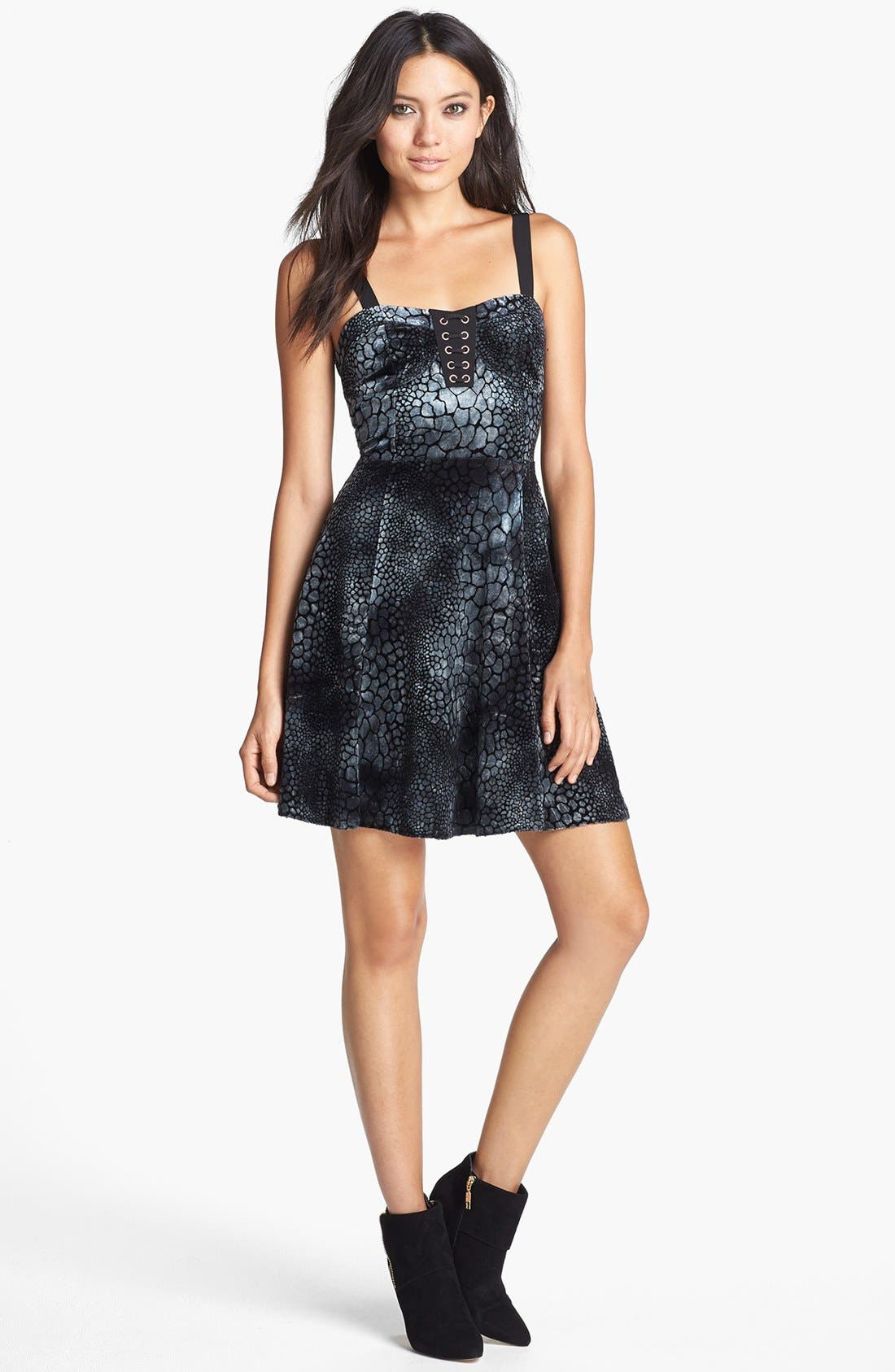 Alternate Image 1 Selected - MINKPINK 'Croc Dead Gorgeous' Cutout Dress