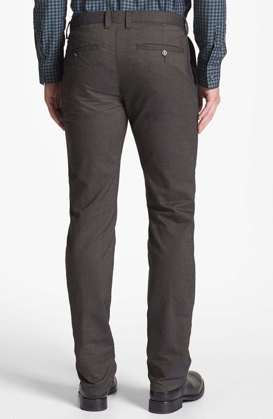 Alternate Image 2  - BOSS HUGO BOSS 'Crigan 1-7-W' Regular Fit Pants