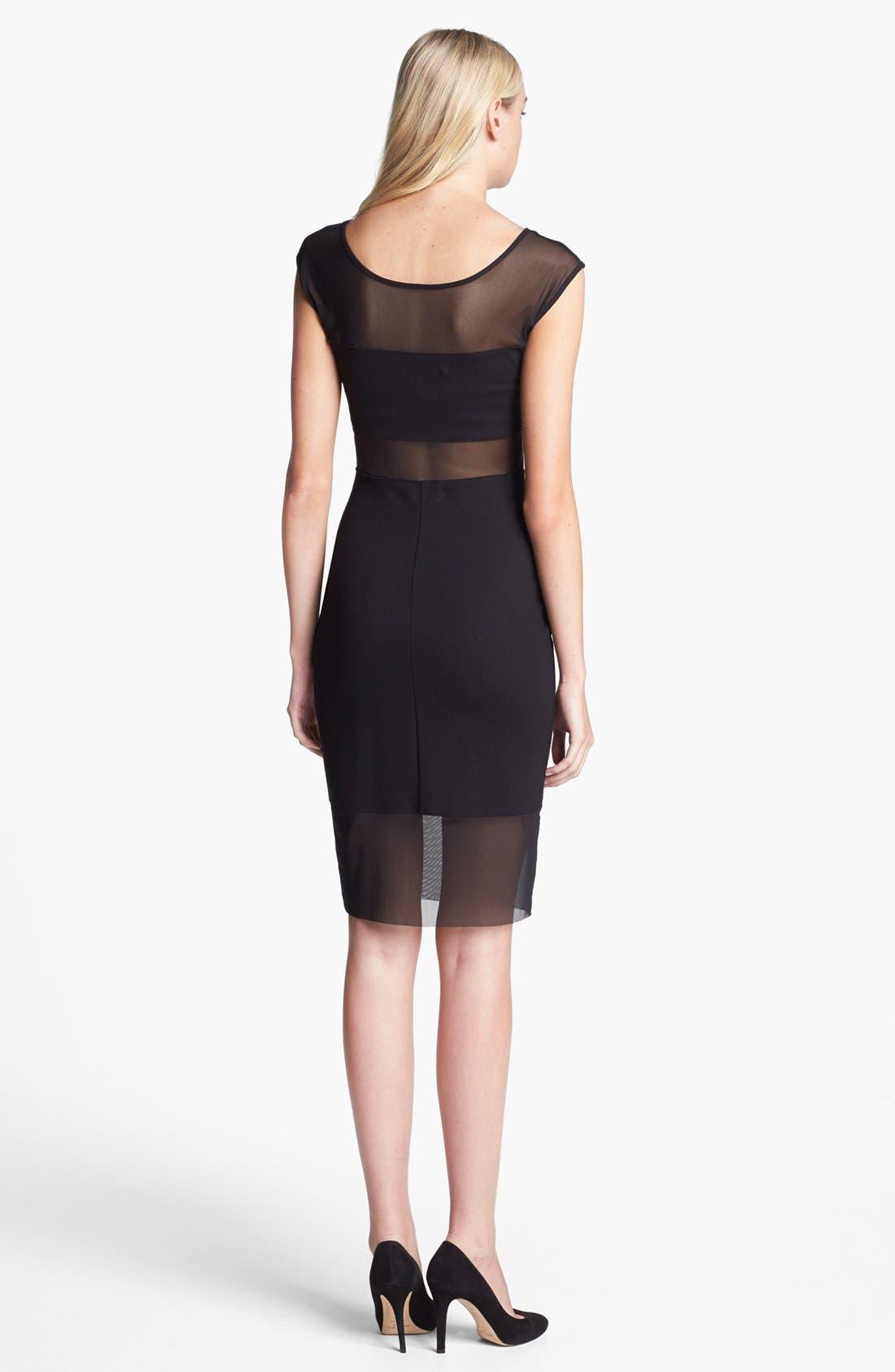Alternate Image 2  - Bailey 44 'Decompression' Mesh Stripe Sheath Dress