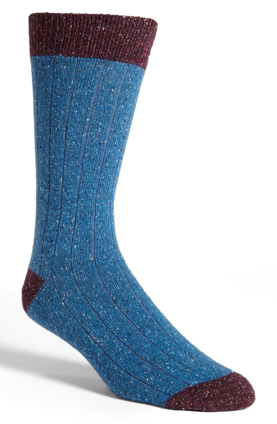 Alternate Image 1 Selected - Etiquette Clothiers Tweed Socks