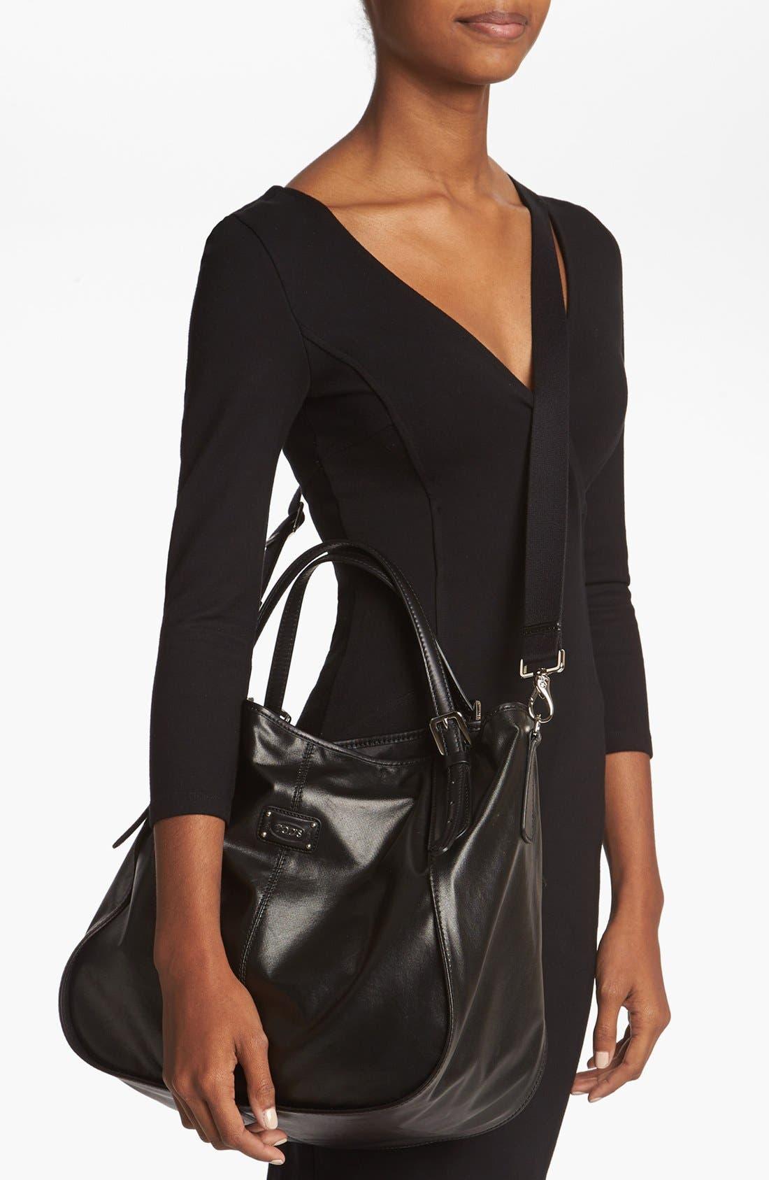 Alternate Image 2  - Tod's 'New G-Line - Sacca Media' Leather Shopper