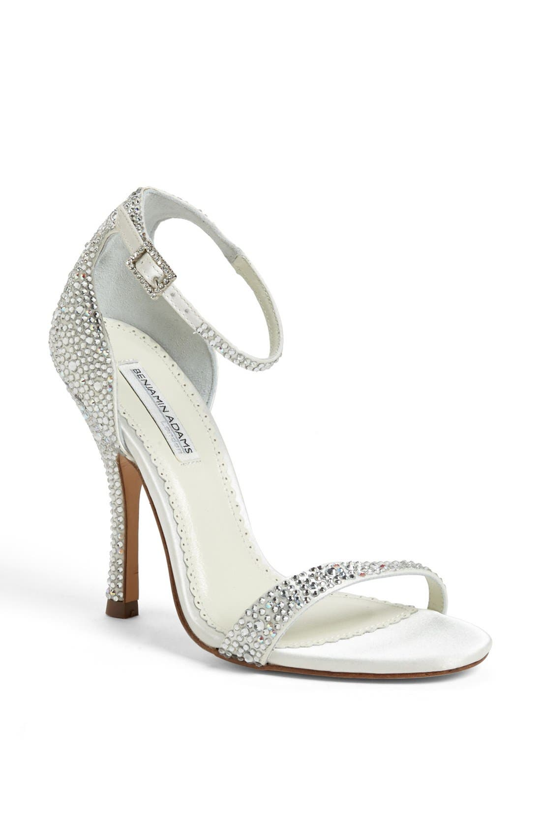 Benjamin Adams Sandal,                         Main,                         color, Ivory