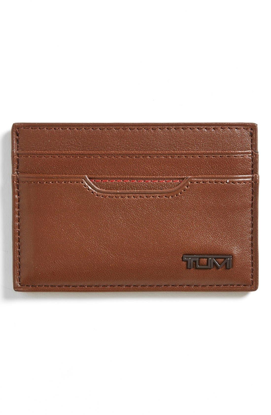 Alternate Image 1 Selected - Tumi 'Slim' Card Case ID Wallet