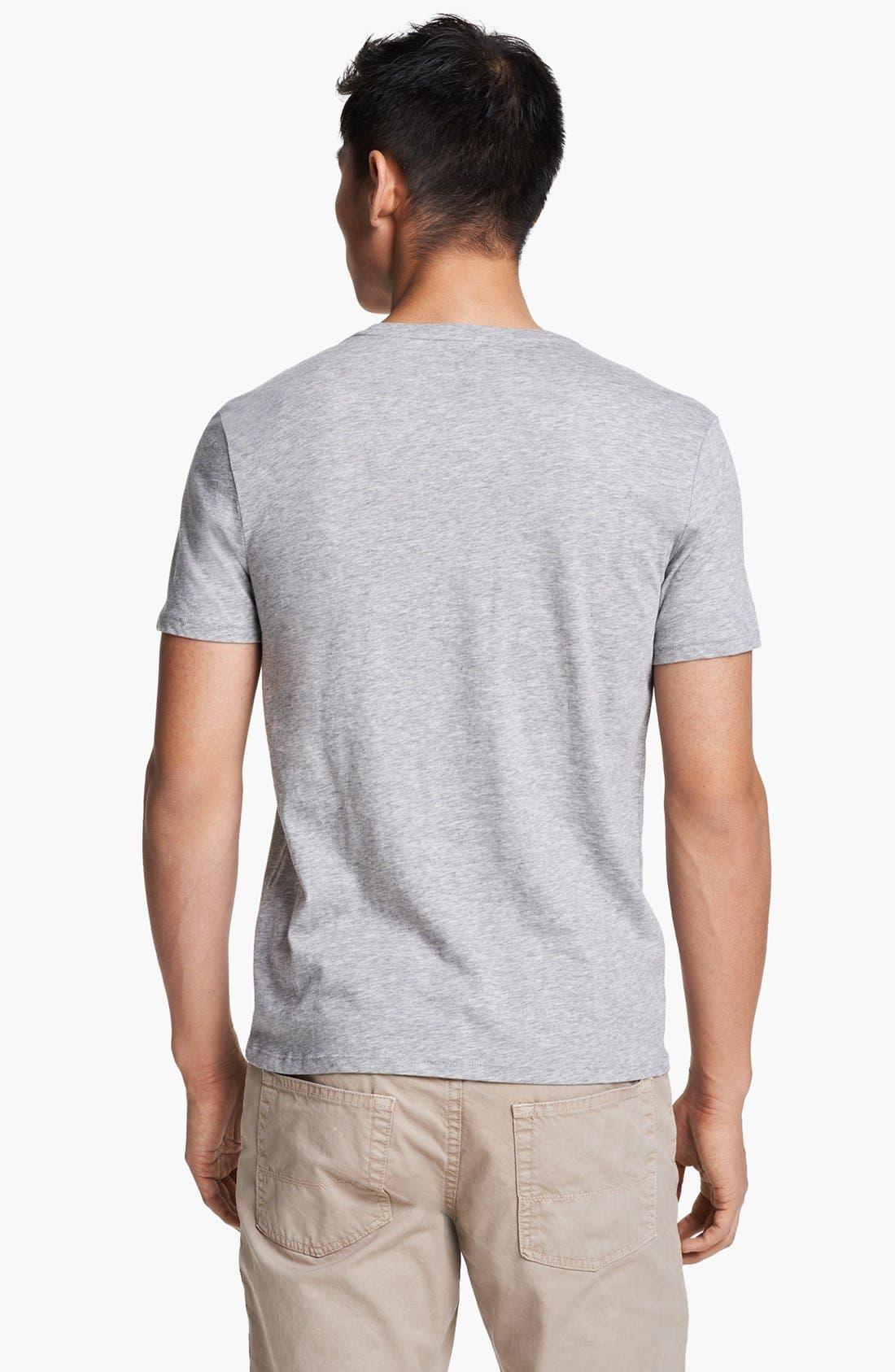 Alternate Image 2  - Vince Pima Cotton Crewneck T-Shirt