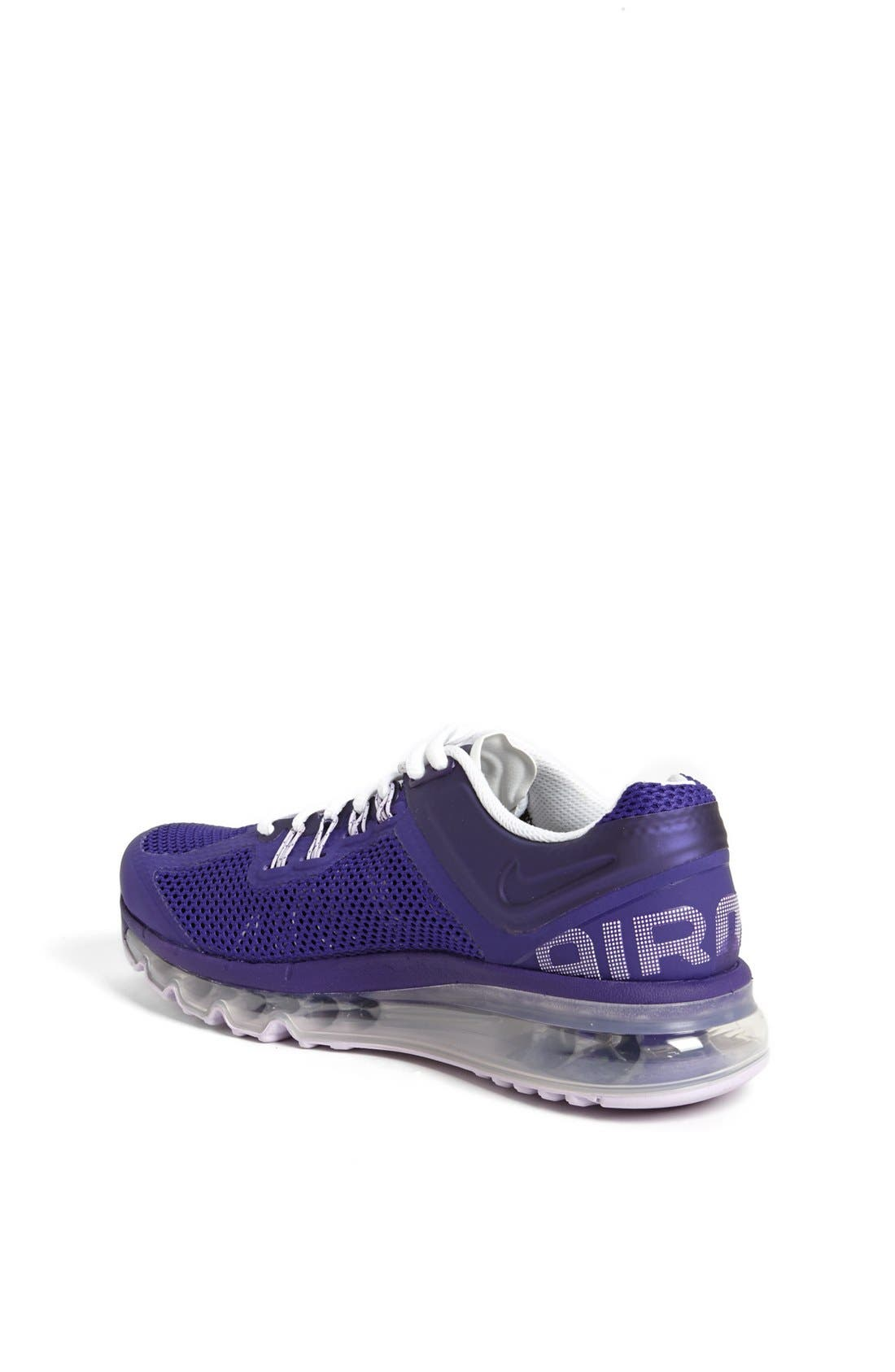 Alternate Image 2  - Nike 'Air Max 2013' Running Shoe (Big Kid)