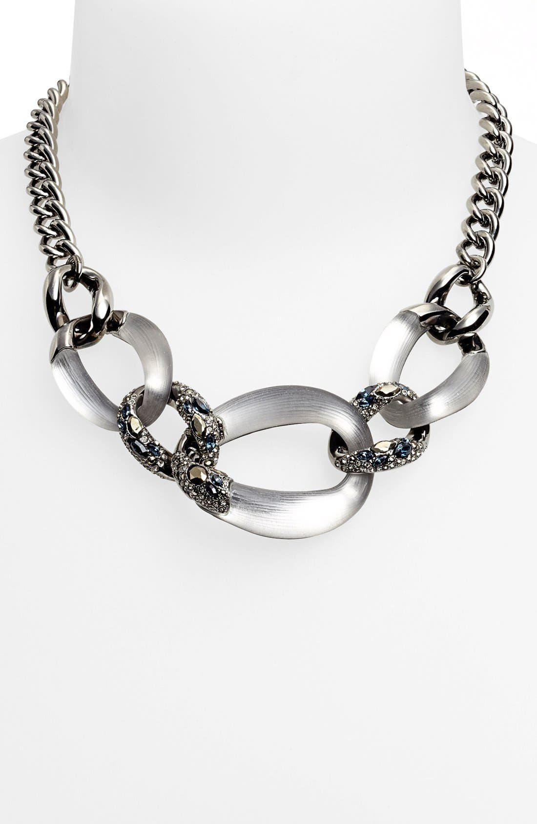 Main Image - Alexis Bittar 'Lucite® - Neo Bohemian' Link Frontal Necklace