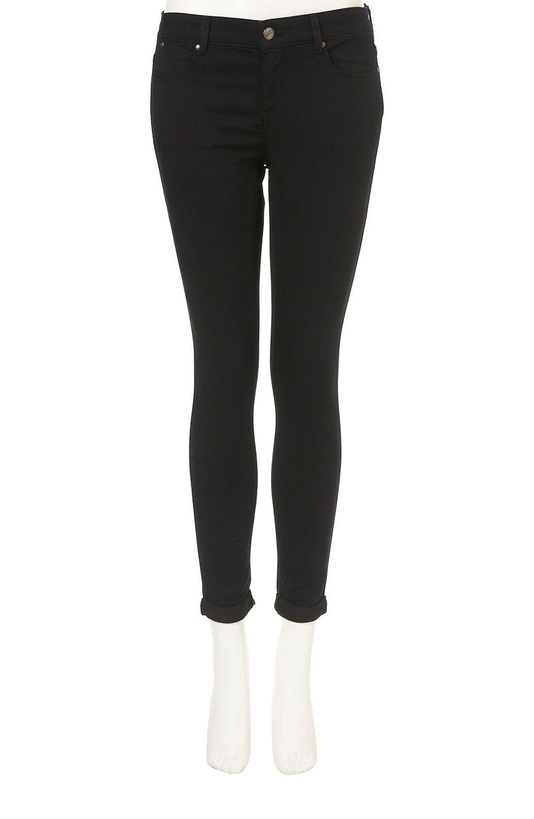 Alternate Image 4  - Topshop 'Leigh' Skinny Jeans