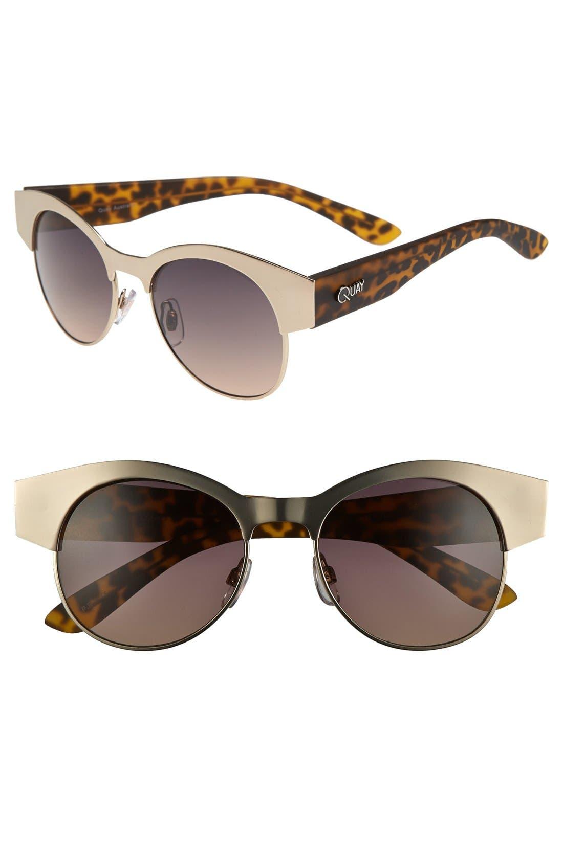 Alternate Image 1 Selected - Quay 50mm Retro Sunglasses