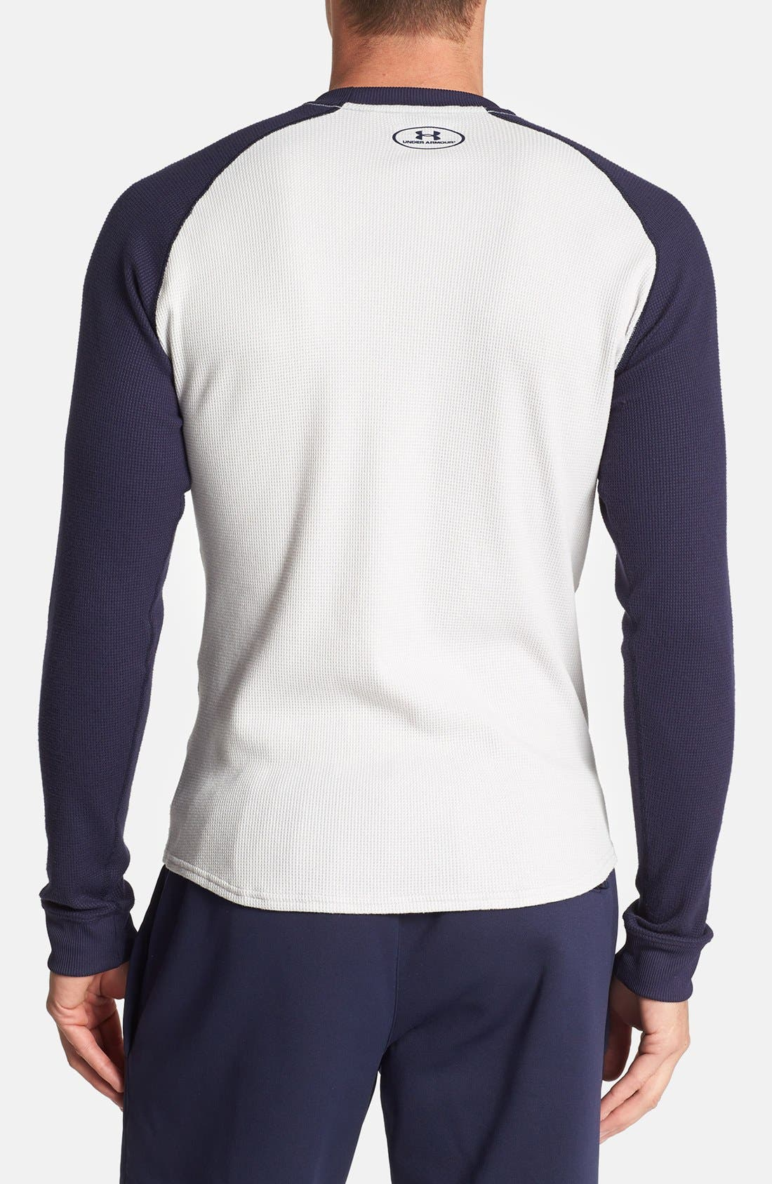 Alternate Image 2  - Under Armour All Season® Thermal T-Shirt