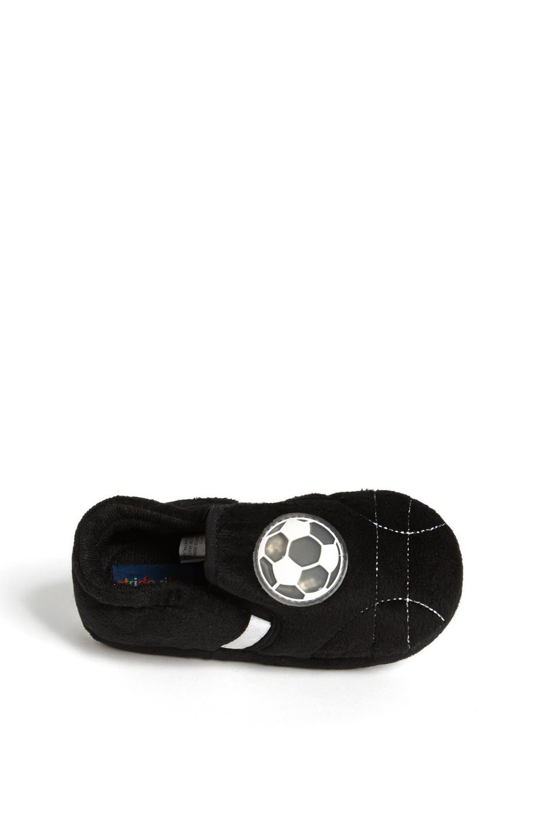 Alternate Image 3  - Stride Rite Light Up Soccer Ball Slippers (Toddler & Little Kid)