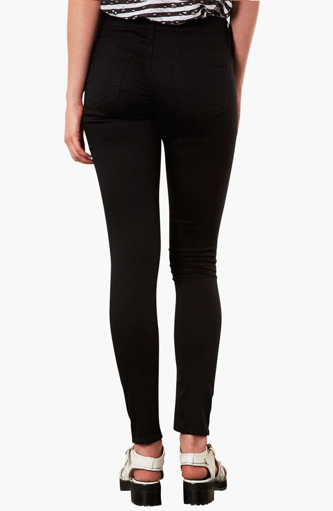 Alternate Image 3  - Topshop 'Leigh' Skinny Jeans