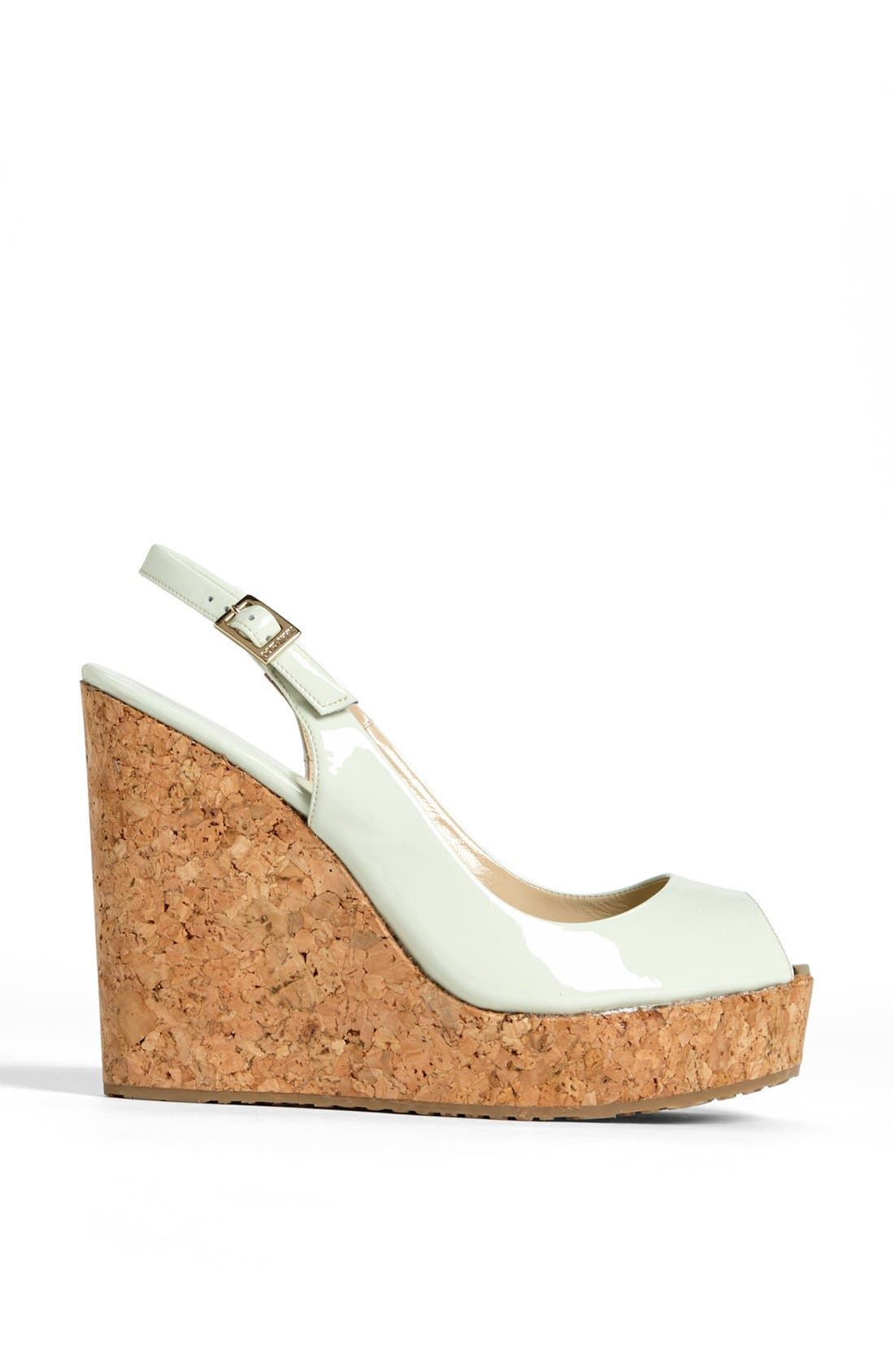 Alternate Image 4  - Jimmy Choo 'Prova' Cork Slingback Wedge Sandal