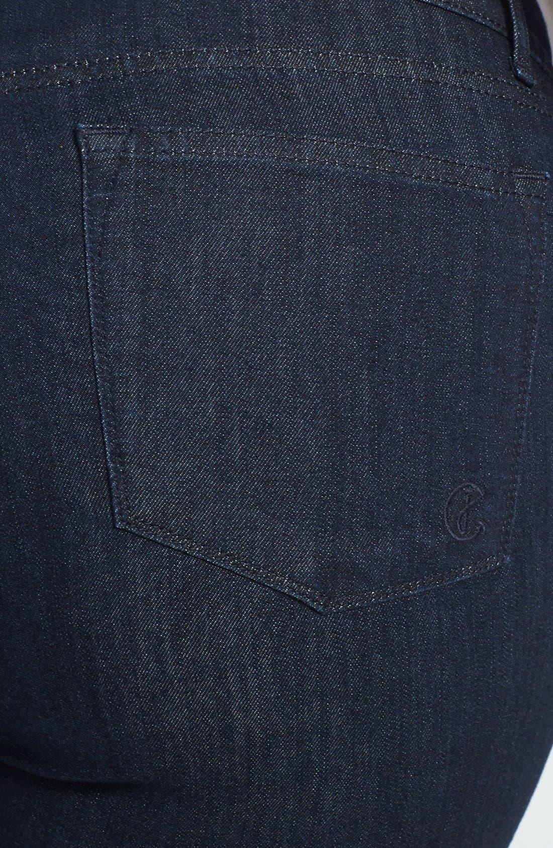 Alternate Image 3  - CJ by Cookie Johnson 'Grace' Bootcut Stretch Jeans (Plus Size)