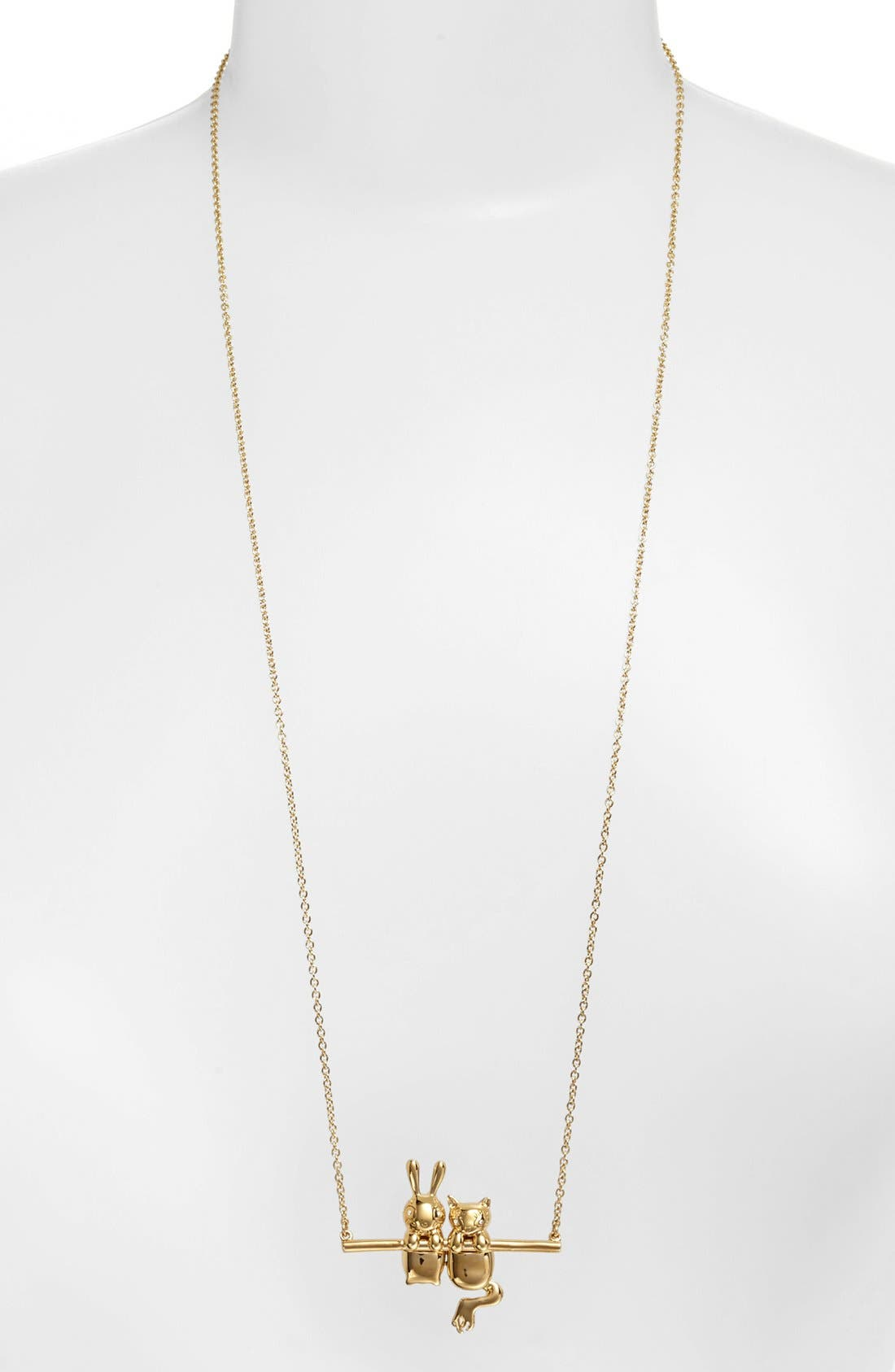 Alternate Image 1 Selected - MARC BY MARC JACOBS 'Dynamite - Rue & Bunny' Pendant Necklace