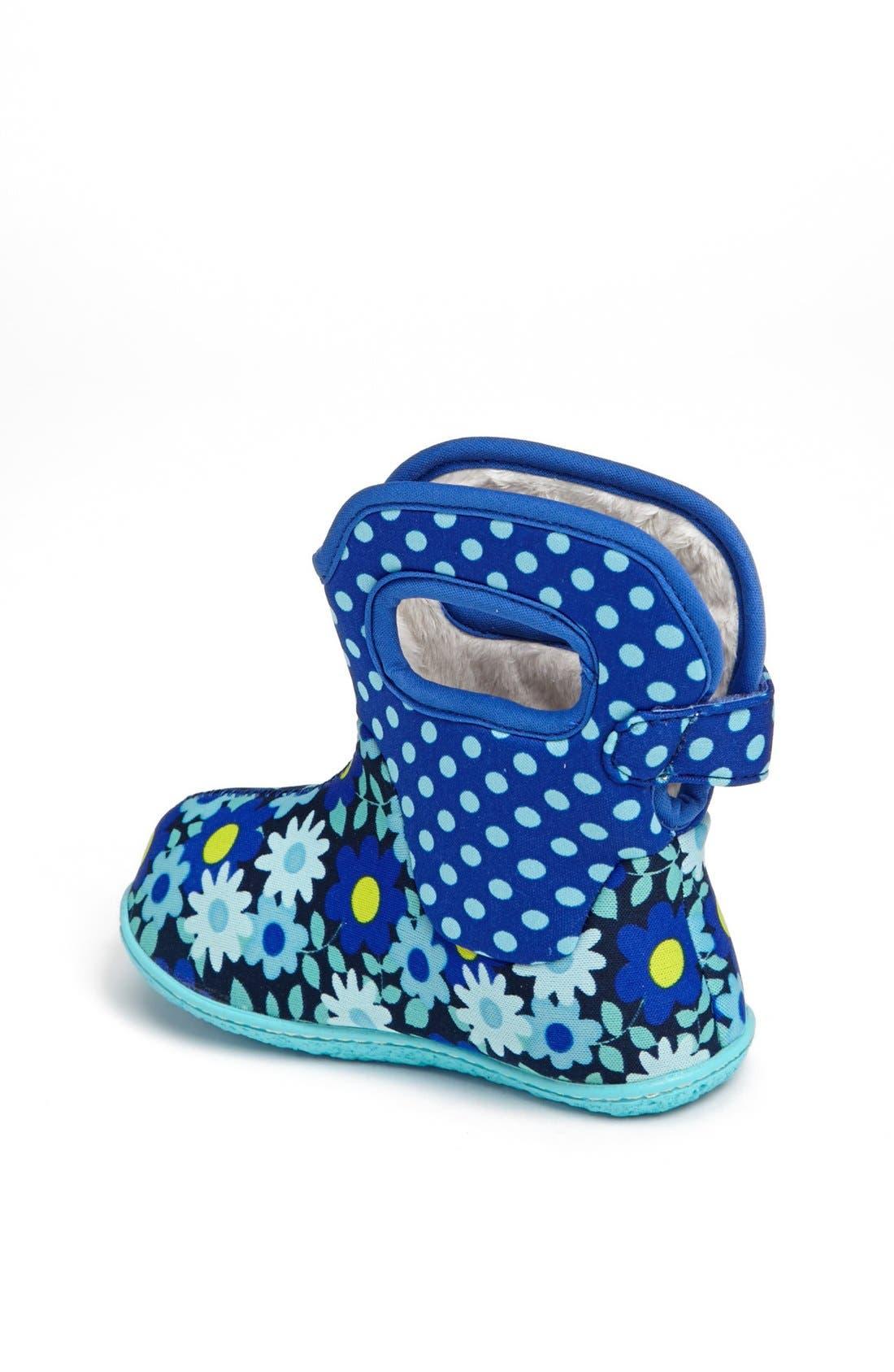 Alternate Image 2  - Bogs 'Baby Bogs - Daisy Dots' Waterproof Boot (Baby, Walker & Toddler)