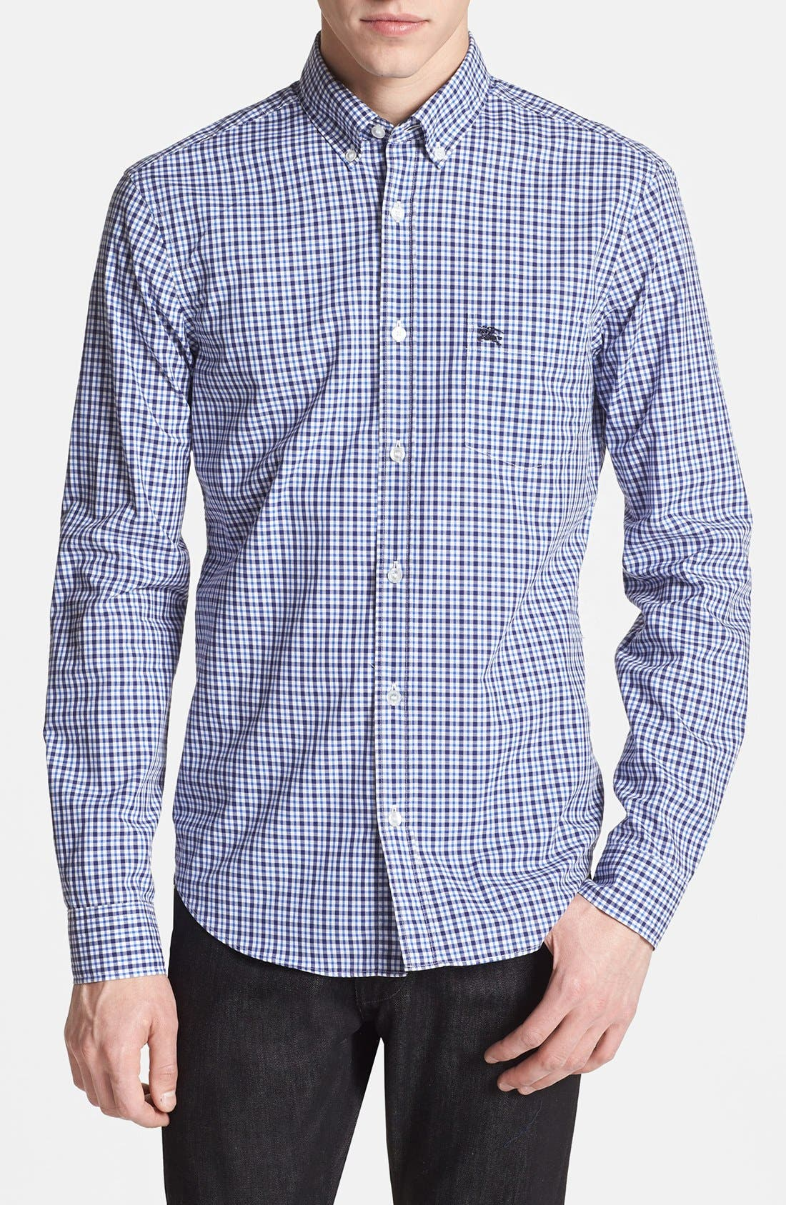 Alternate Image 1 Selected - Burberry Brit 'Fred' Check Sport Shirt