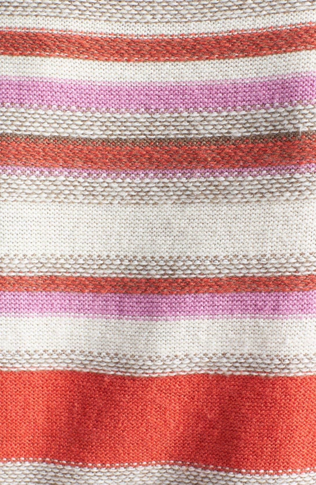 Alternate Image 3  - Halogen® Open Crewneck Sweater
