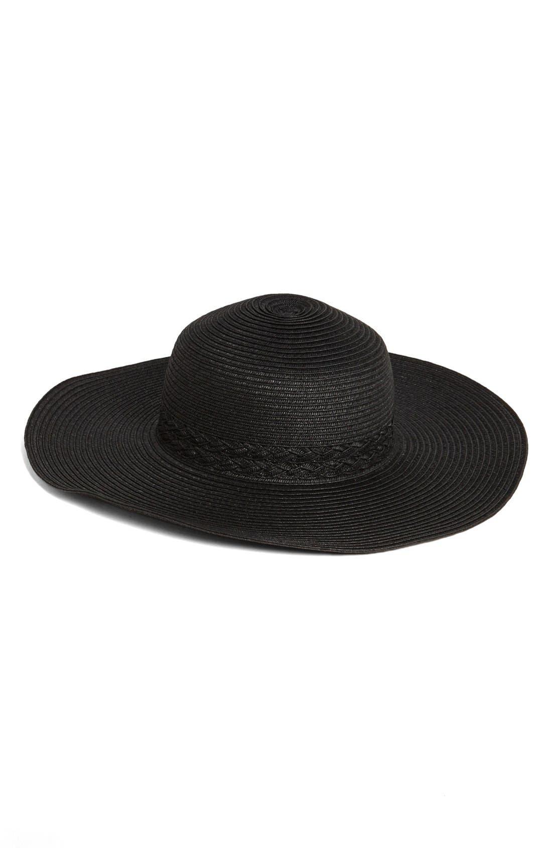Main Image - Nordstrom Wide Brim Hat