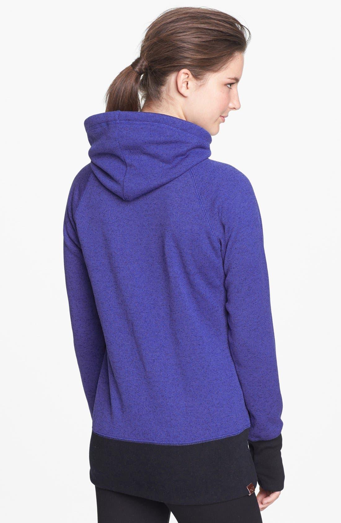Alternate Image 2  - Roxy 'Switch It Up' Fleece Jacket