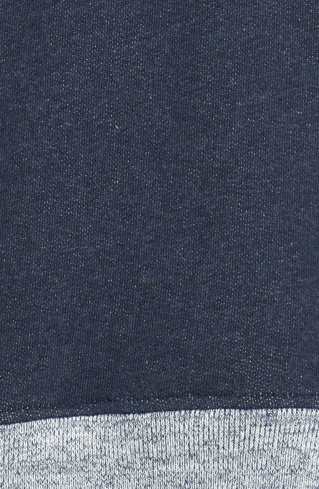 Alternate Image 3  - Theory 'Corbit B' Side Zip Cotton Sweatshirt