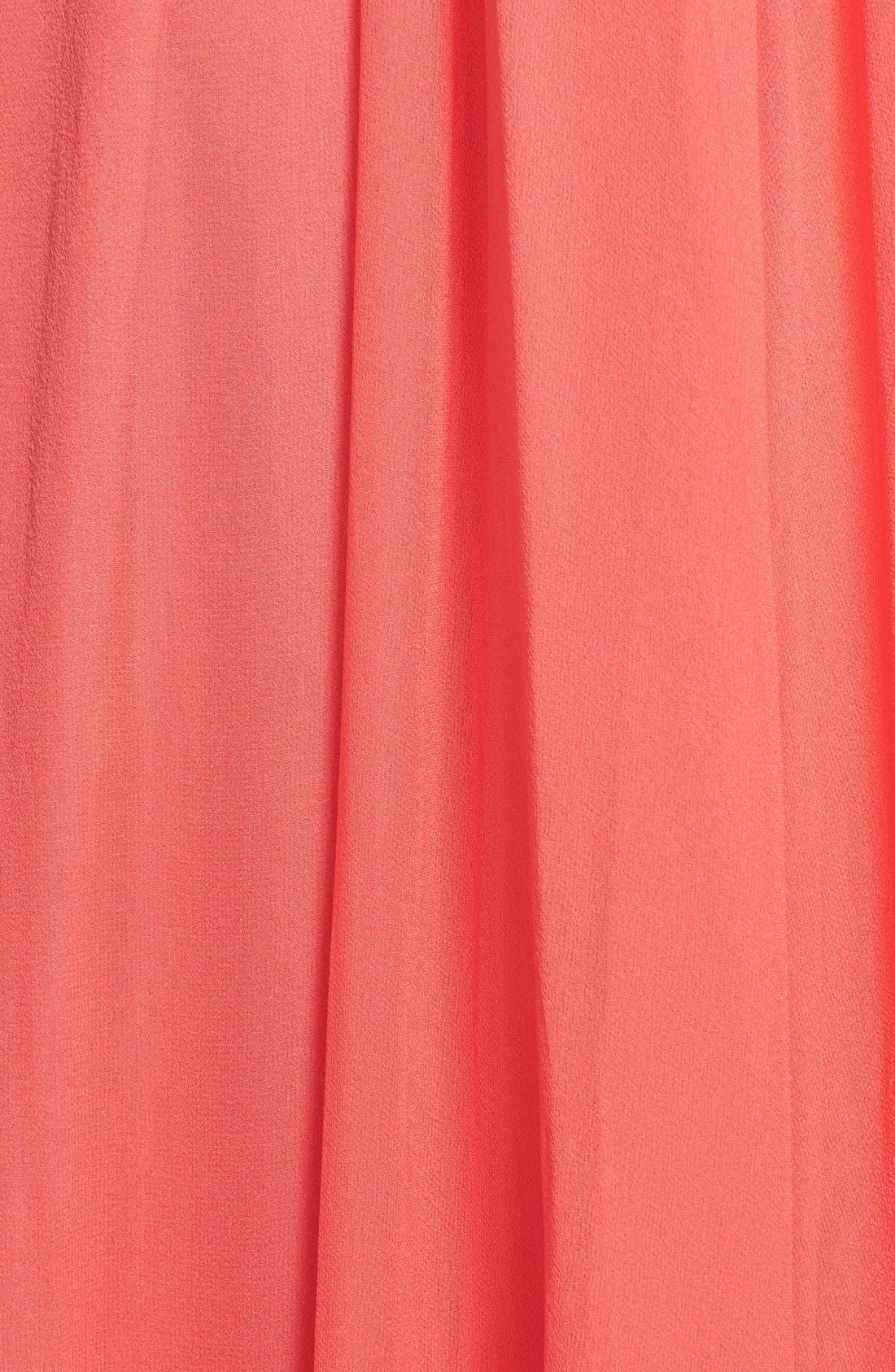 Alternate Image 3  - Jill Jill Stuart Pleat Chiffon Gown