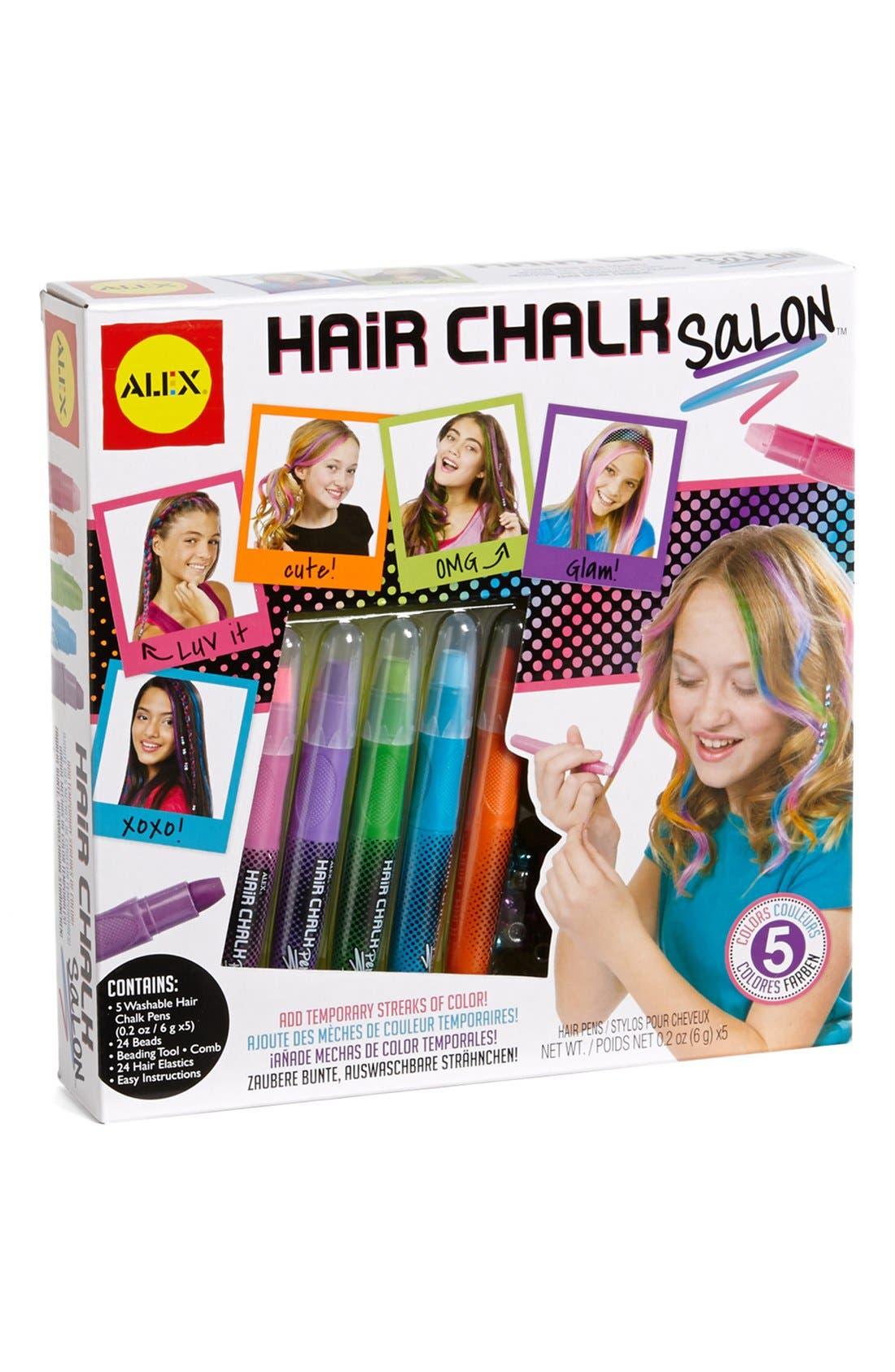 Alternate Image 1 Selected - Alex® Toys 'Hair Chalk Salon' Hair Kit (Little Girls & Big Girls)