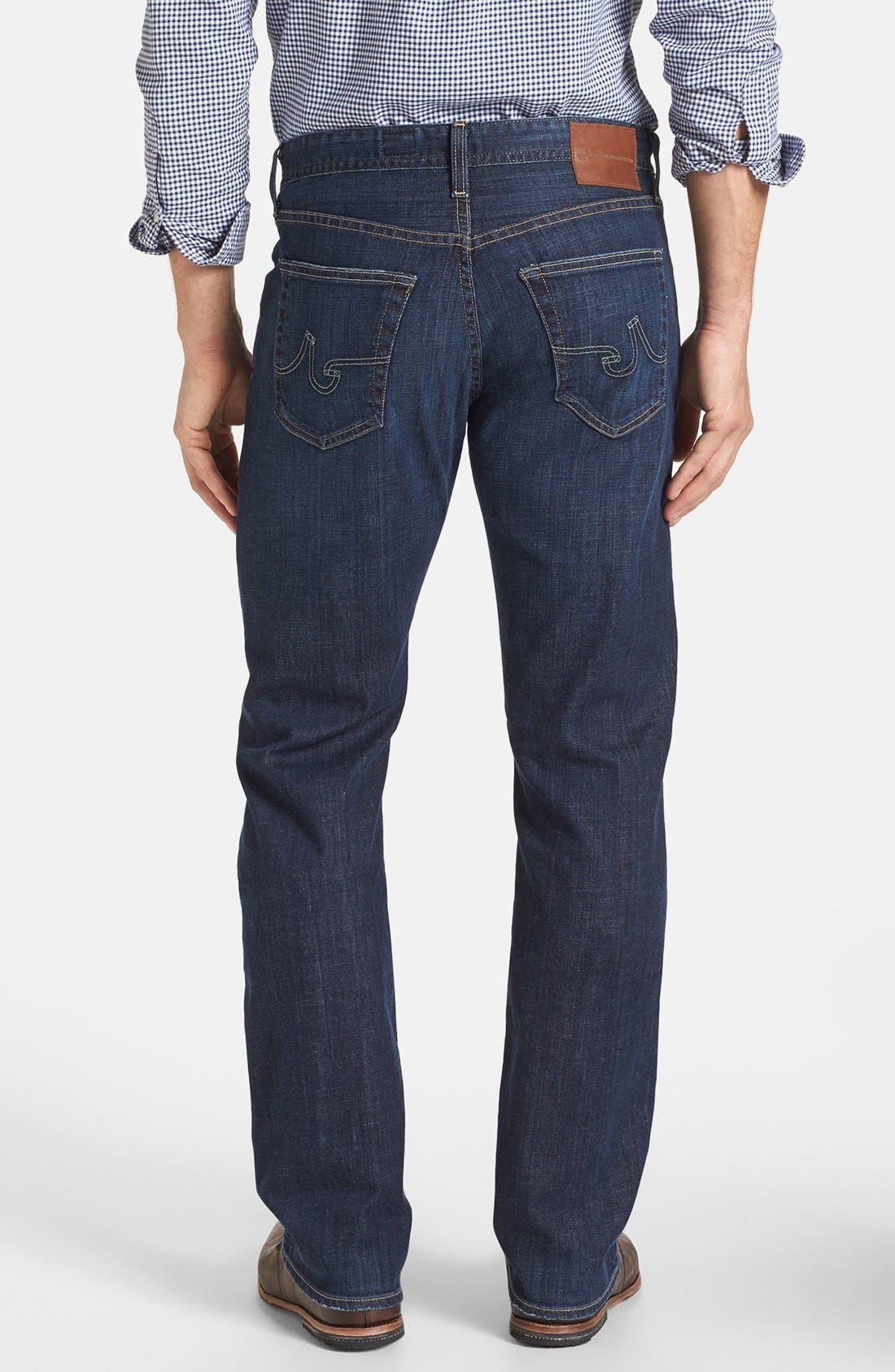 Alternate Image 2  - AG 'Protégé' Straight Leg Jeans (Kearney)