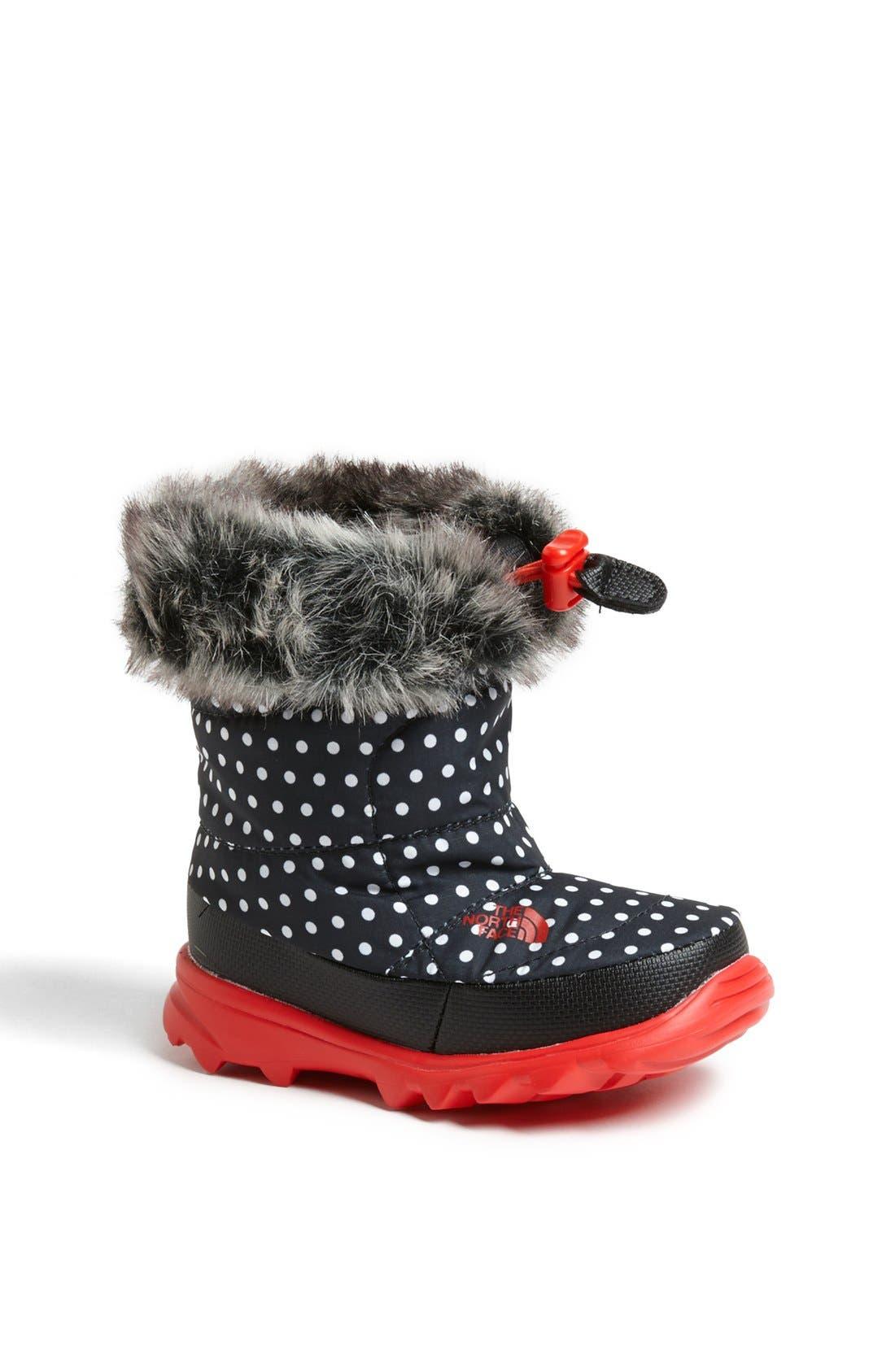 Main Image - The North Face 'Nuptse Fur II' Winter Boot (Walker & Toddler)