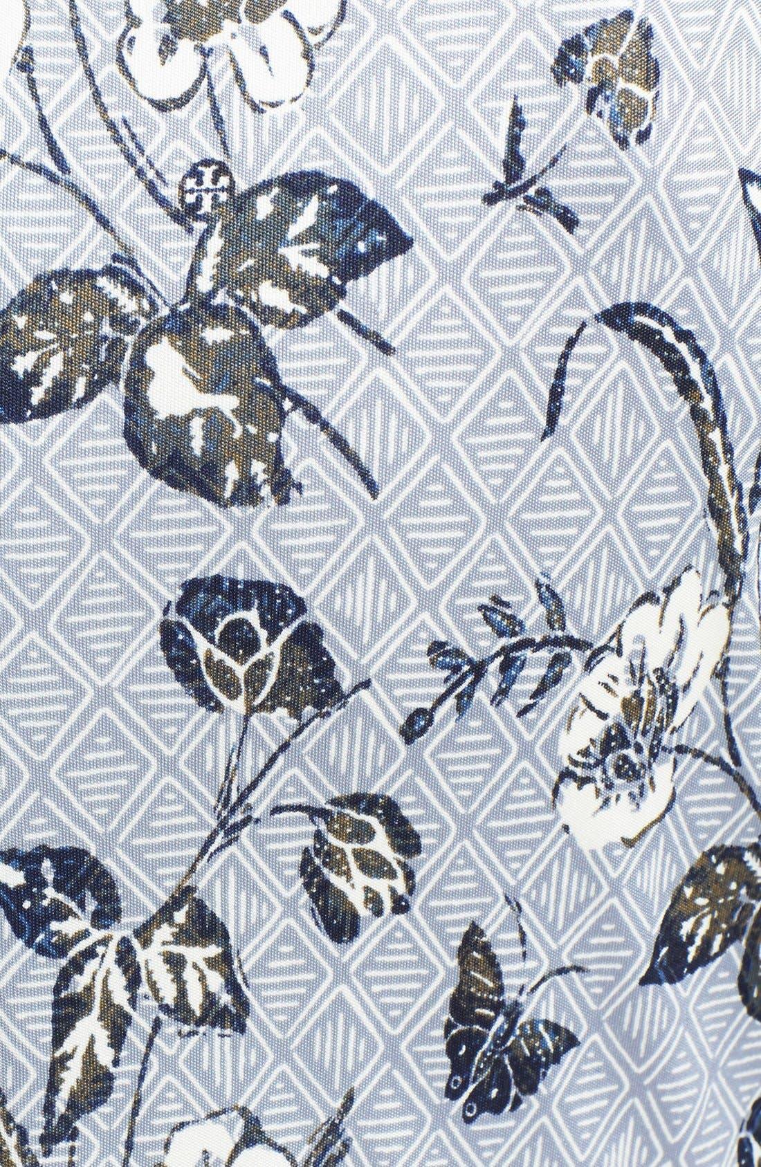 Alternate Image 3  - Tory Burch 'Edna' Silk A-Line Dress