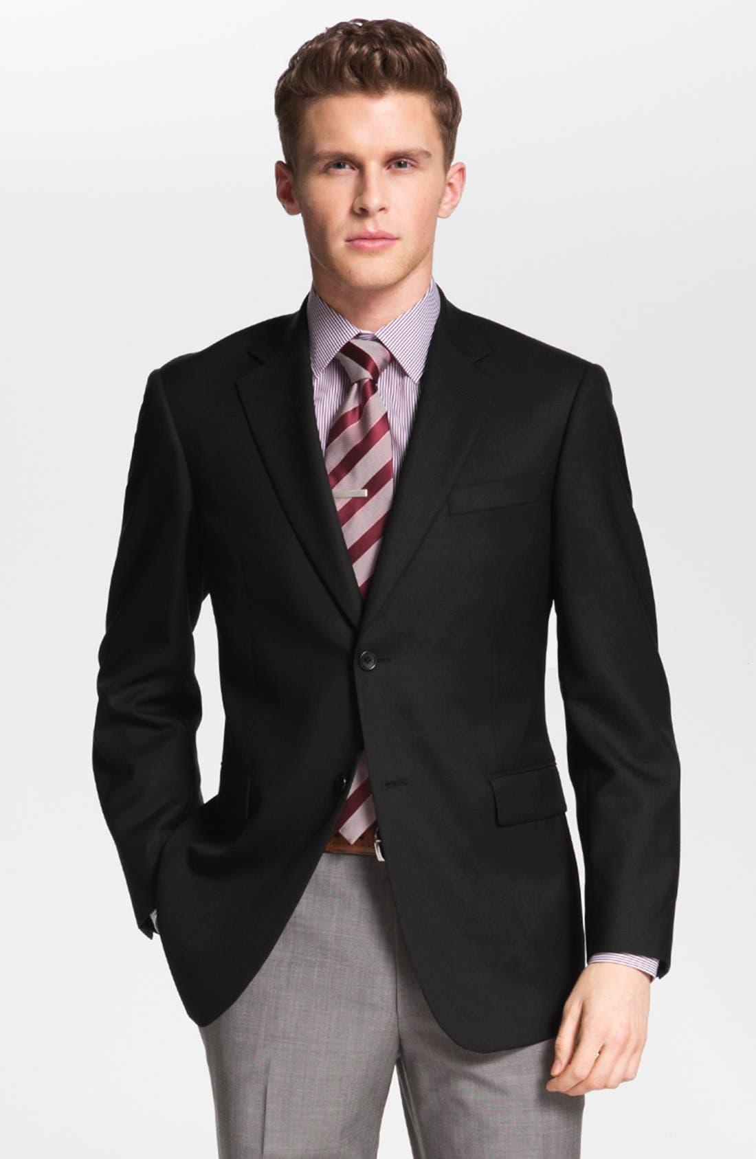 Main Image - Nordstrom Wool Blazer (Online Only)