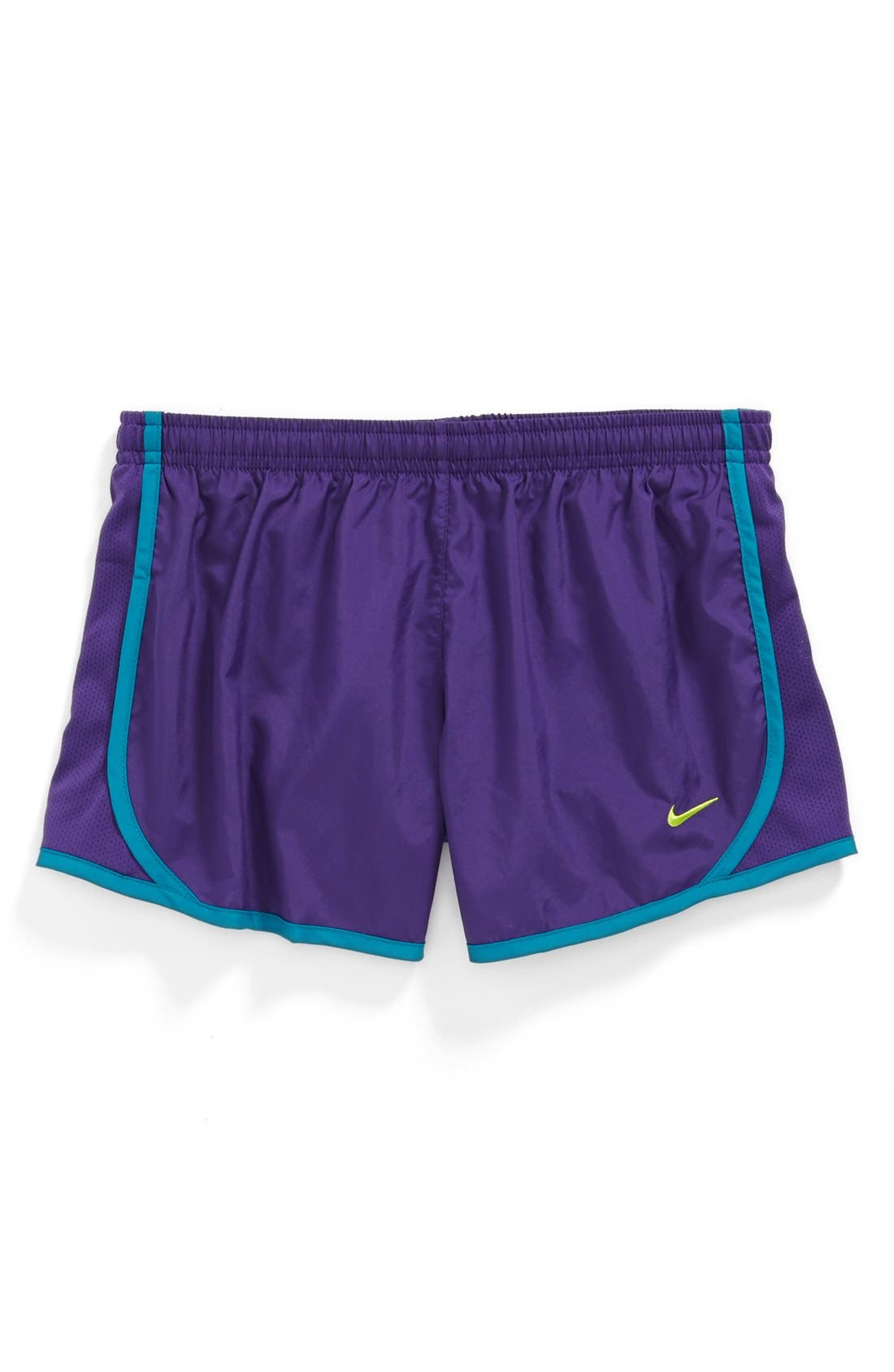 Alternate Image 1 Selected - Nike 'Tempo' Track Shorts (Little Girls & Big Girls)
