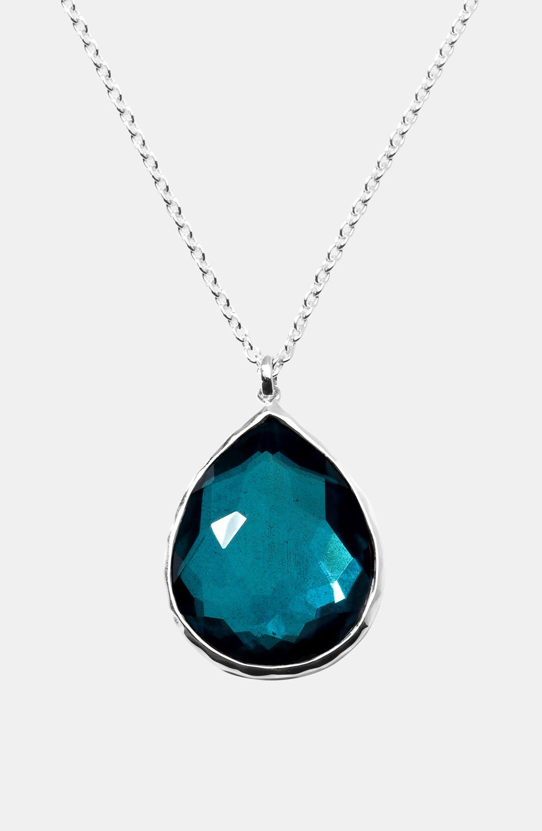 Alternate Image 1 Selected - Ippolita 'Rock Candy' Large Teardrop Necklace