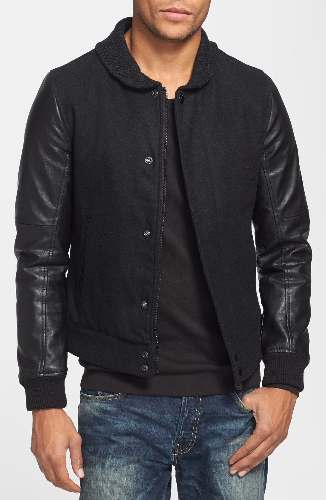 Alternate Image 1 Selected - G-Star Raw 'Thor' Wool Blend Bomber Jacket