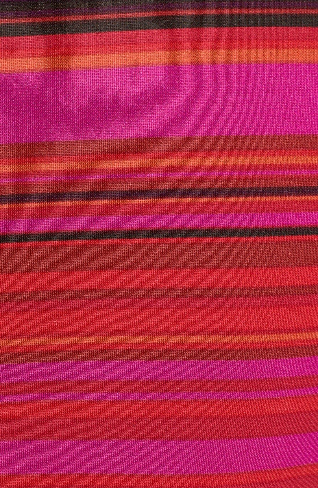 Alternate Image 3  - Maggy London Stripe Ponte Sheath Dress