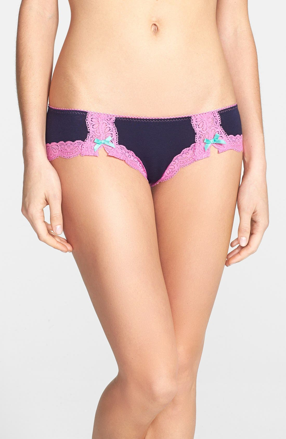 Alternate Image 1 Selected - Honeydew Intimates Low Rise Hipster Briefs
