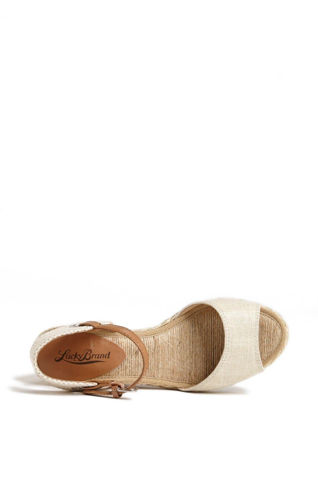 Alternate Image 3  - Lucky Brand 'Kyndra' Sandal