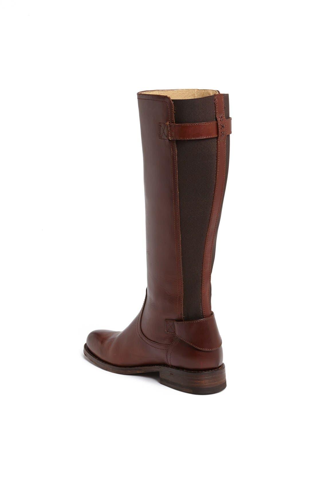 Alternate Image 2  - Frye 'Jayden' Back Gore Leather Boot