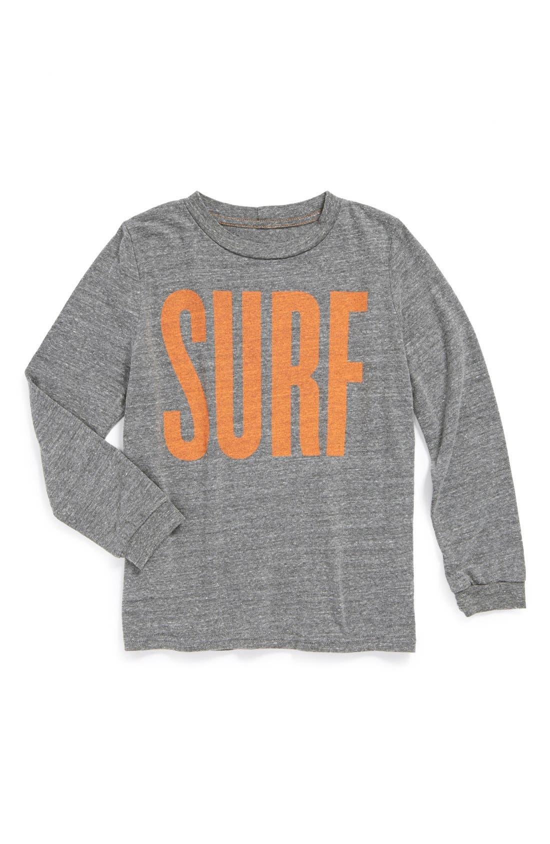 Alternate Image 1 Selected - Peek 'Surf' T-Shirt (Big Boys)