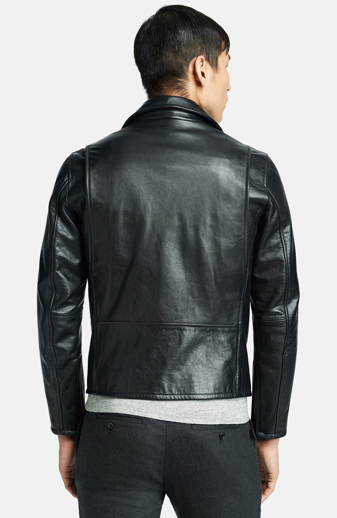 Alternate Image 2  - Theory 'Vilson L Ceti' Leather Moto Jacket
