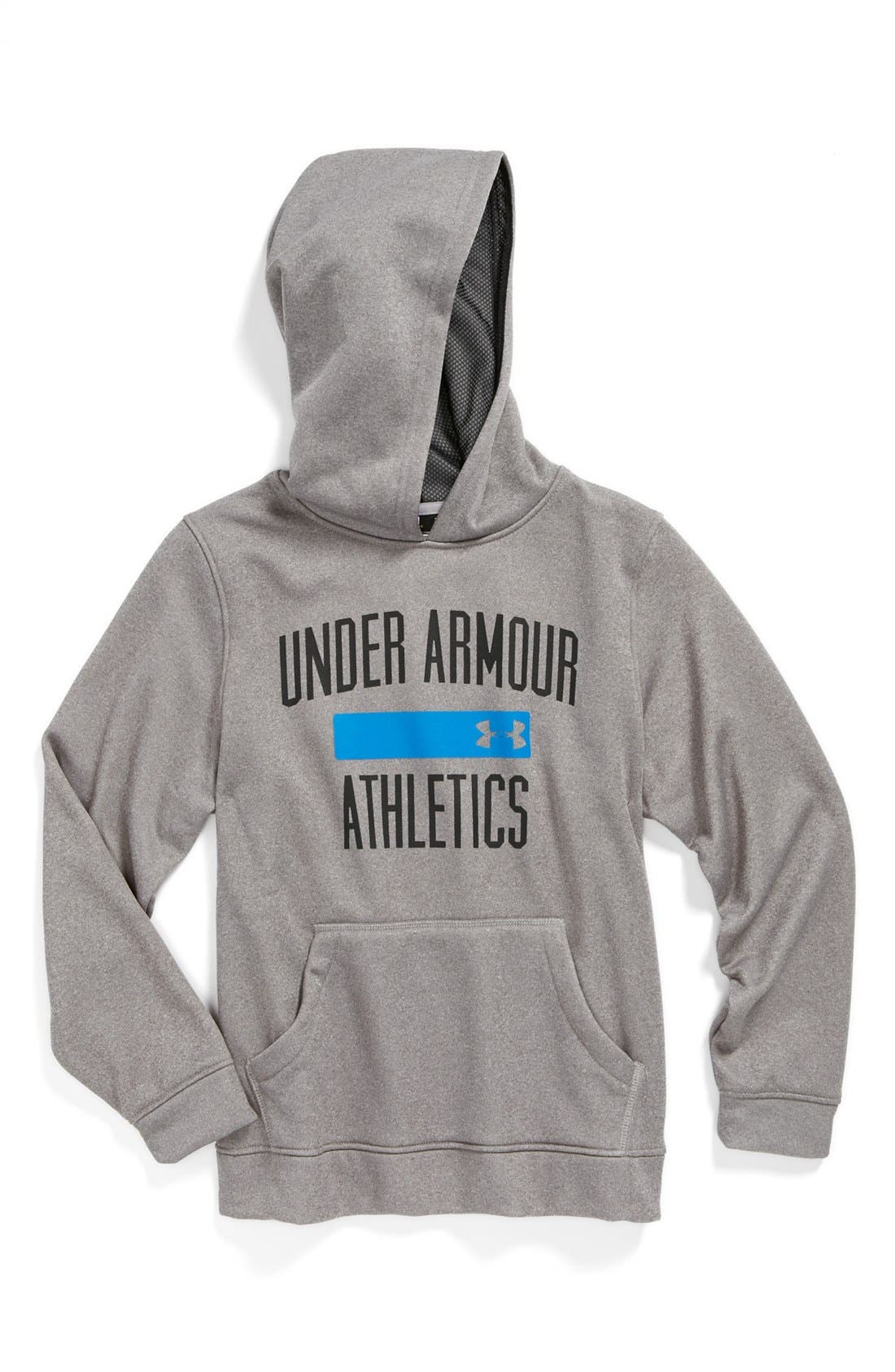 Main Image - Under Armour 'Battle' Hoodie (Big Boys)
