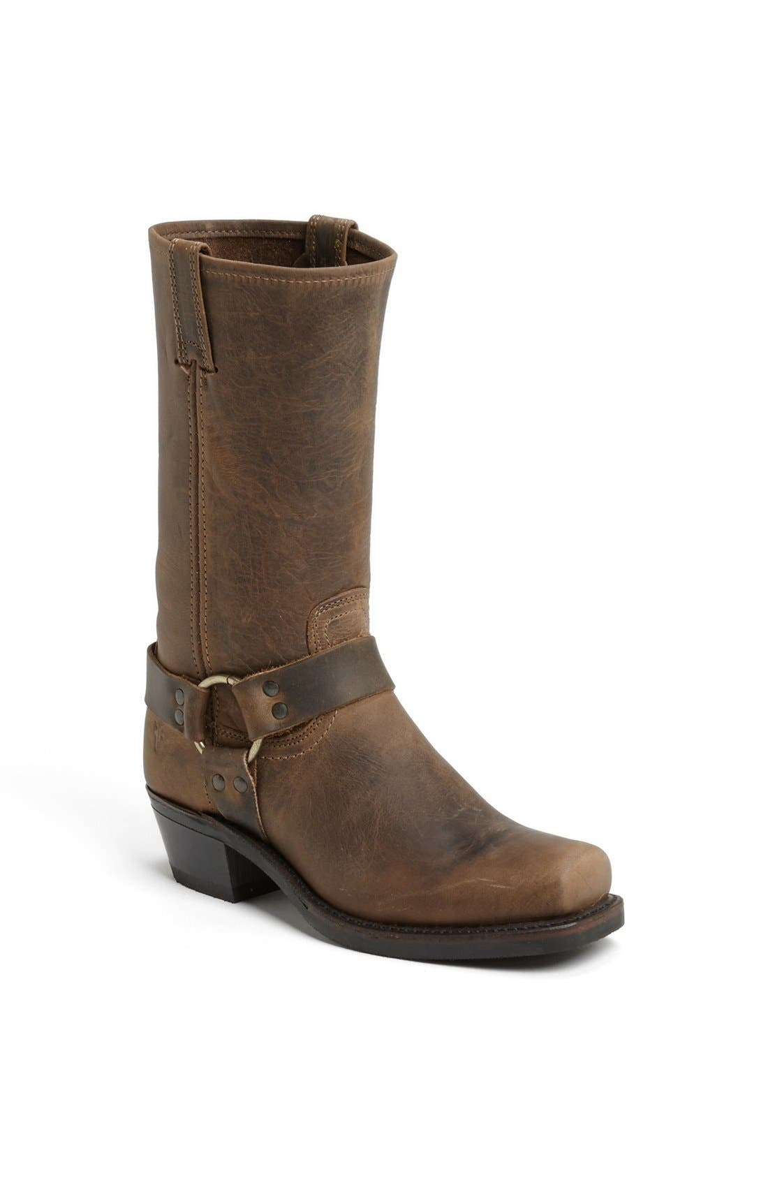 'Harness 12R' Leather Boot,                             Main thumbnail 1, color,                             Tan