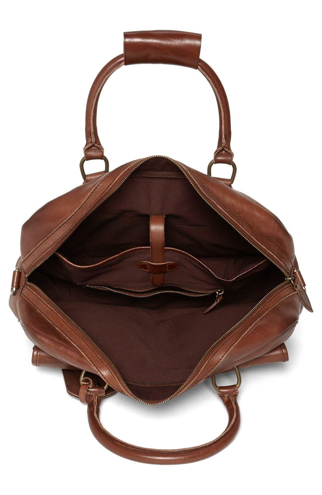 Alternate Image 3  - Polo Ralph Lauren Leather Commuter Bag